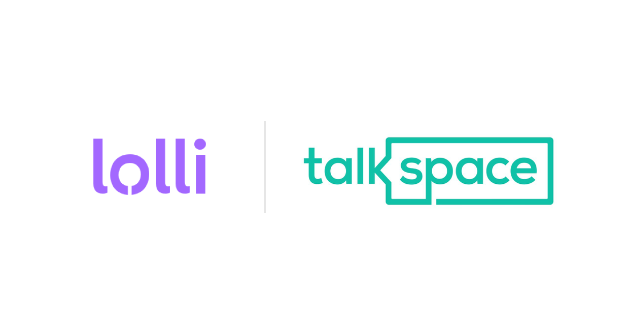 Lolli Partners with Talkspace, the Leading Online Therapy Provider! 💜