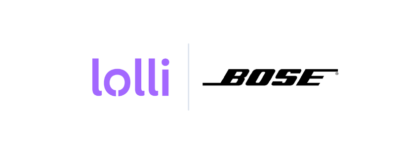 Bose is Now LIVE on Lolli.com 🎧